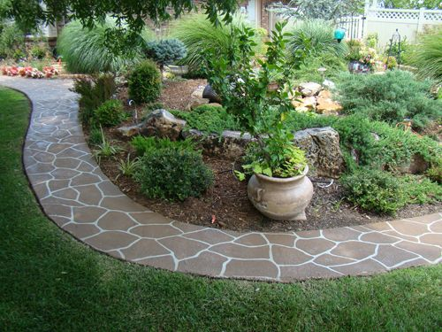 best 25 stone landscaping ideas on pinterest decorative. Black Bedroom Furniture Sets. Home Design Ideas