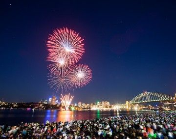 The best 10 vantage points to watch the New Year's Eve fireworks in Sydney. www.visitingnsw.com