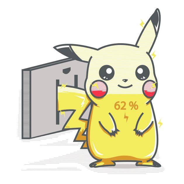 Charging Pikachu (Pokemon)