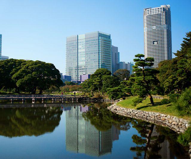 Los magníficos jardines japoneses de #Hamarikyu