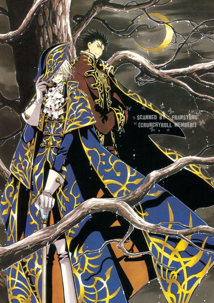 Fai D. Flourite & Kurogane Anime manga, Ilustraciones