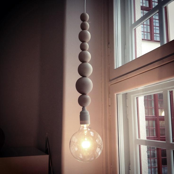 I am Jo.: DIY Bead Lamp.