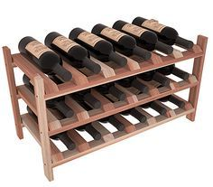 Wine Racks America products are modular wine storage kits that require some assembly. Please see the last two images to view assembly guide.