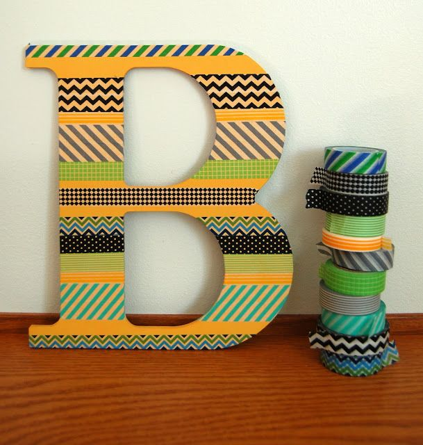 letters decoration, great for alphabets in nursery or home