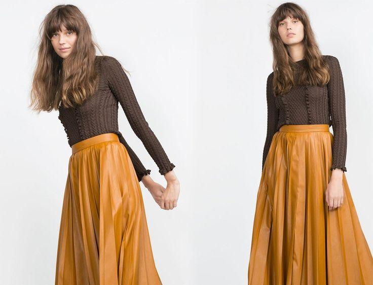 Zara 2015-2016 Koleksiyonu 70'ler Modası http://www.yesiltopuklar.com/2015-sonbaharinda-70ler-etkisi.html