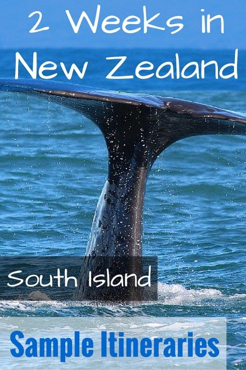 2 Weeks in New Zealand South Island: Sample Itineraries - FreeYourMindTravel