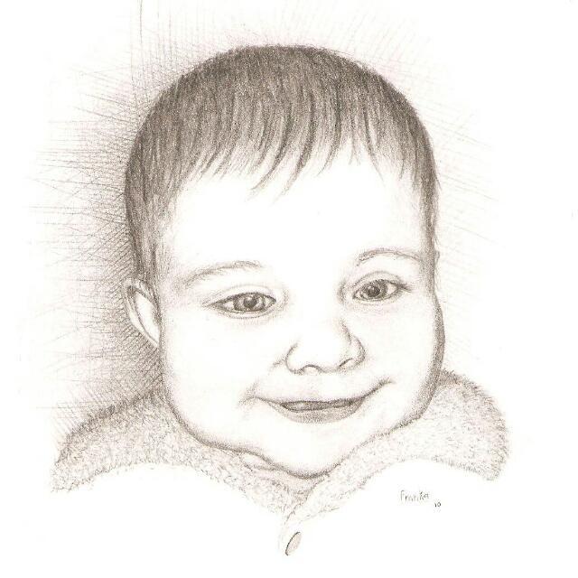 Retrato de mi bebe