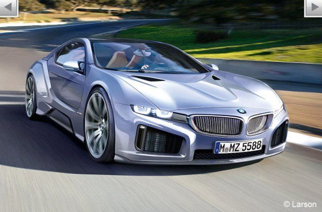 Production version BMW Vision EfficientDynamics coming in 2013