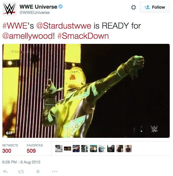 Pin for Later: Arrow's Stephen Amell Hopped in the Ring on WWE Raw and Here's What Happened Last week, WWE posted a GIF of Stardust shooting an imaginary arrow.