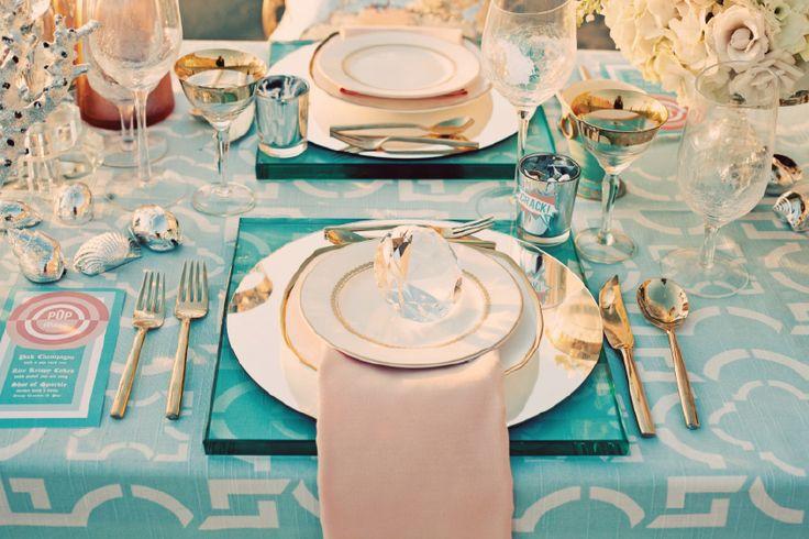 Planning a Destination Wedding?--trendy beach reception (styled shoot)