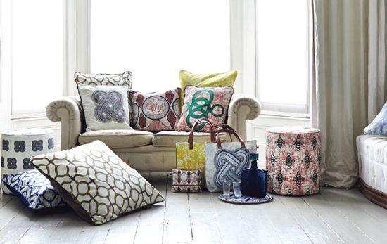 Eva Sonaike Cushions Pinterest