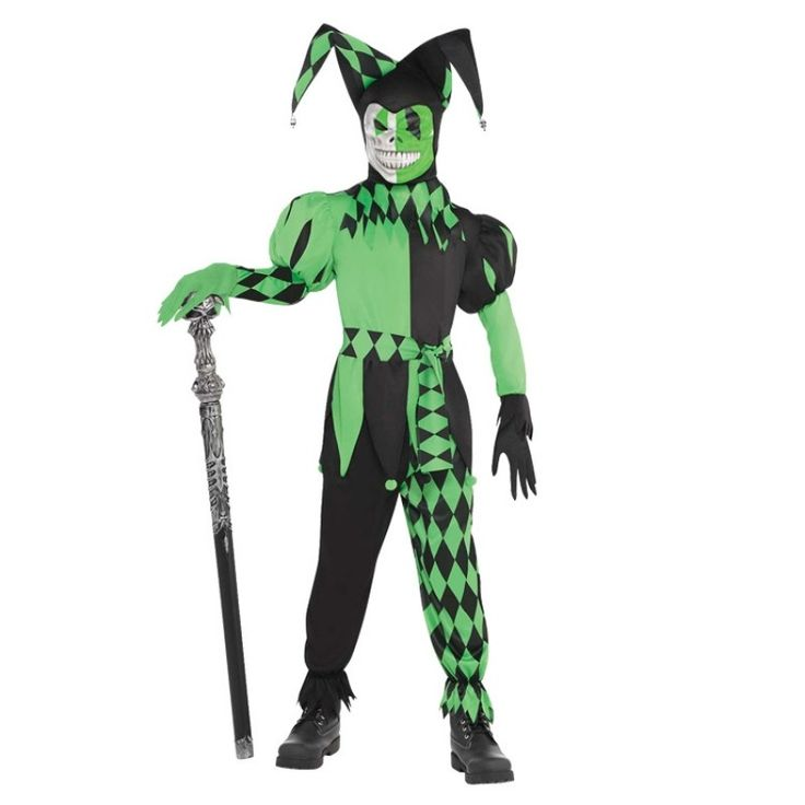Wicked Jester Costume - Kids Halloween Costumes - Halloween Costumes - Halloween