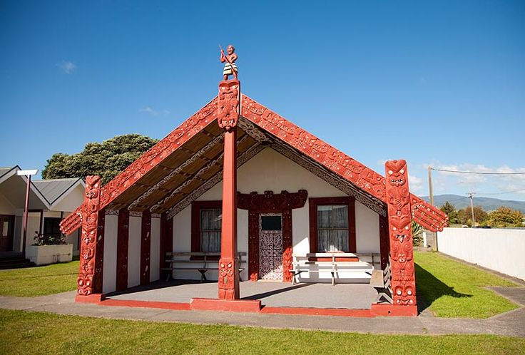 Otaki Marae, see more at New Zealand Journeys app for iPad www.gopix.co.nz