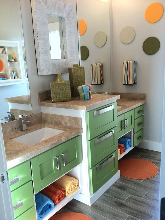 Not The Colours Or Handles But The Storage. Office BathroomShared  BathroomKid ...