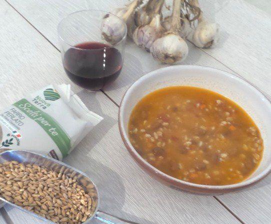 Ricetta Zuppa Di Farro Perlato – Tanta Salute In Un Piatto Caldo Squisito - Le ricette di Nuova terra