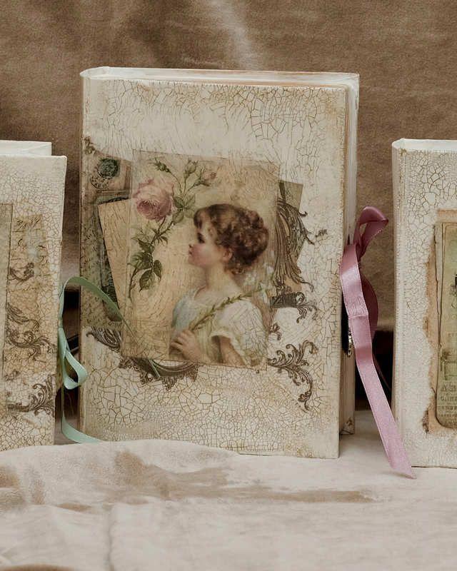 Krakelierlack und Buchboxen