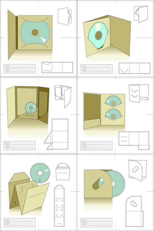 113 best packaging images on Pinterest Boxes, Beautiful and Cards - compact cd envelope template
