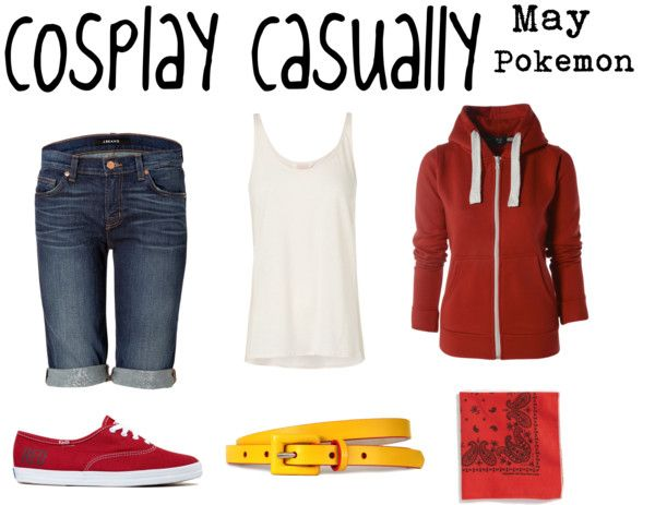 Cosplay casually May from Pokemon <<< Useful for Halloween