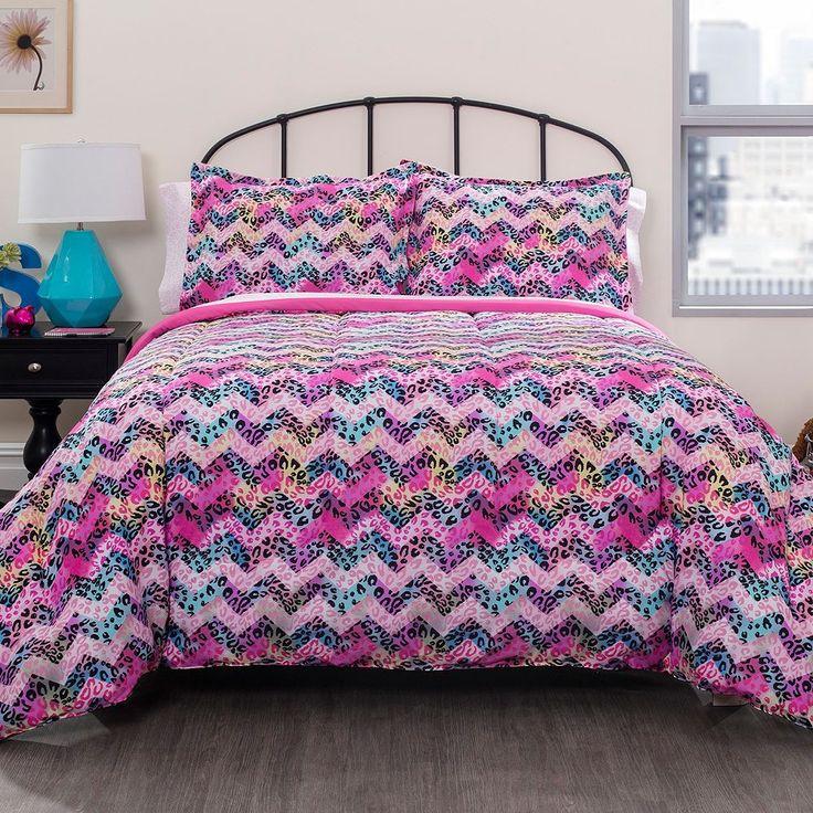 Pop Shop Cheetah Bed In A Bag, Multicolor