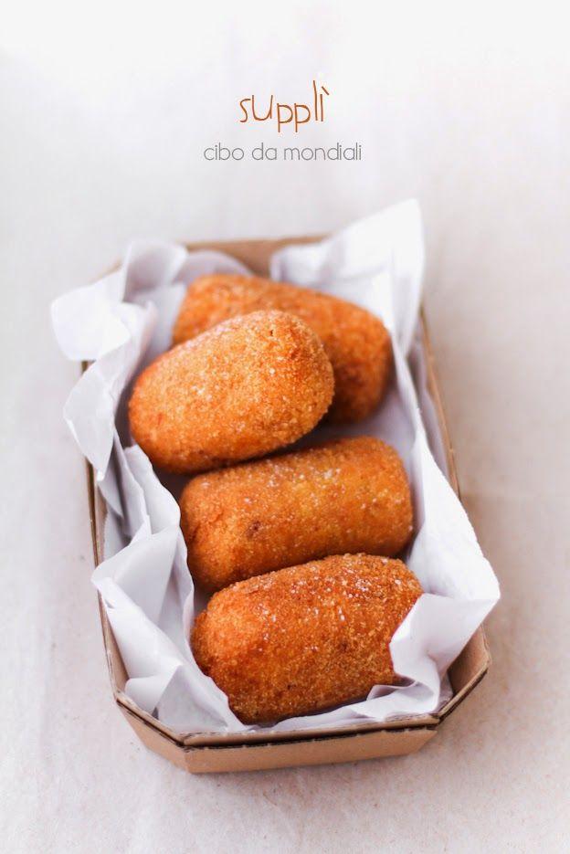 Supplì al telefono Roman street food #streetfood #rice