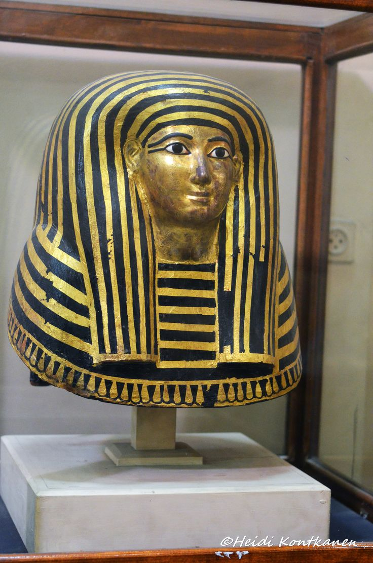 https://flic.kr/p/HbYRyu   Mummy mask from KV36   Maiherpri was an noble of Nubian origin and was buried in the Valley of the Kings. Maiherpri was placed in a set of three coffins and his mummy was adorned with a mummy mask. 18th dynasty, from Valley of the Kings - KV36. CG 24004 / SR4126 Upper floor, room 17 Cairo Museum