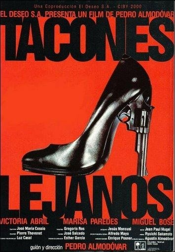 Good day to watch an award-winning Spanish movie? How about Almodovar's melodrama - Tacones Lejanos (1991)