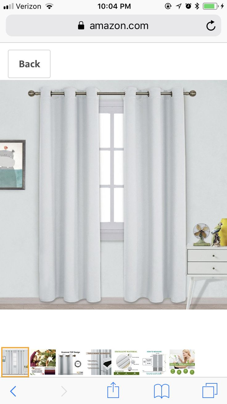 Back Slider Curtains #BlackWhiteGreyAndPink Nice Design