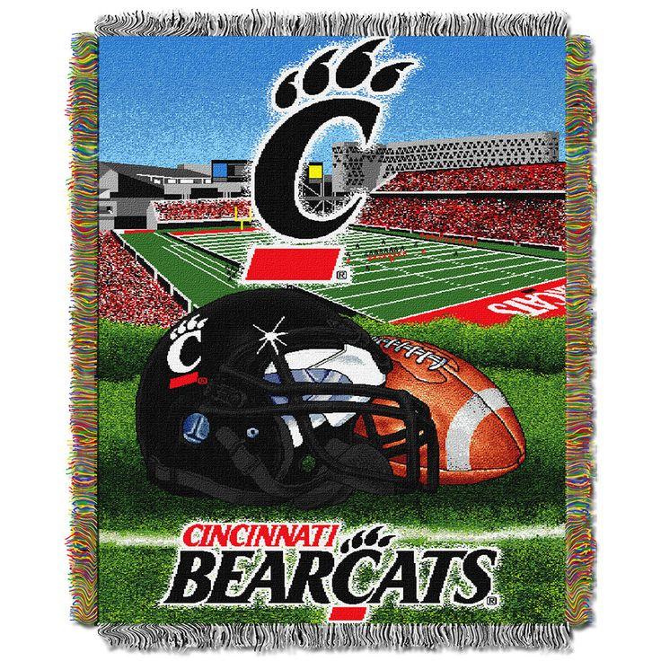 cincinnati bearcats home field advantage tapestry blanket - Home Decor Cincinnati