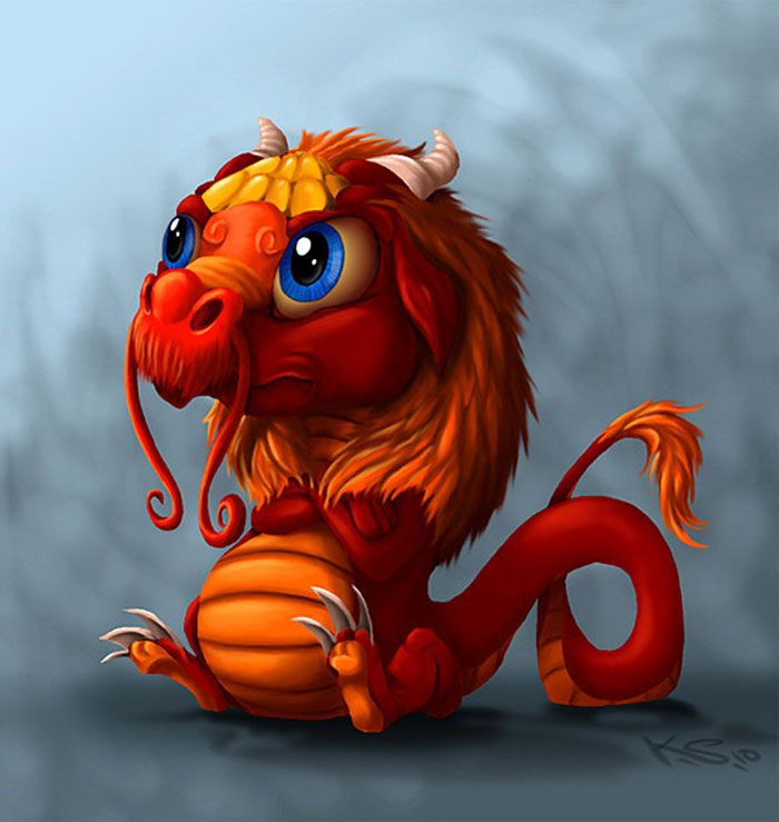 Teeeheeee! Cutie Dragon must be looking at the To-Do List I wrote for him today! :))