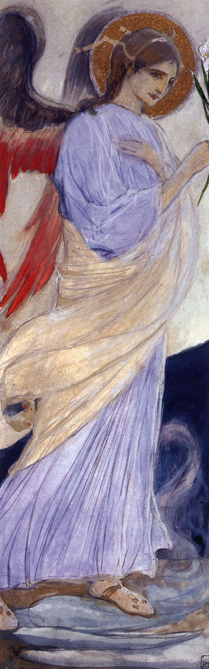 Нестеров М.. Архангел Гавриил. 1899-1900