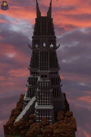 темная башня в майнкрафт #1