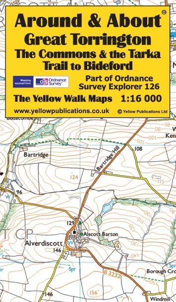 Great Torrington, the Commons & the Tarka Trail to Bideford - cover