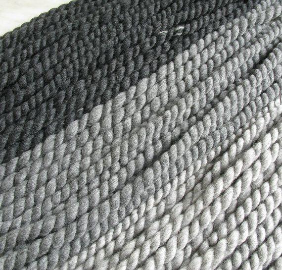 Filato di lana merino extra grosso / super di Manonspun su Etsy