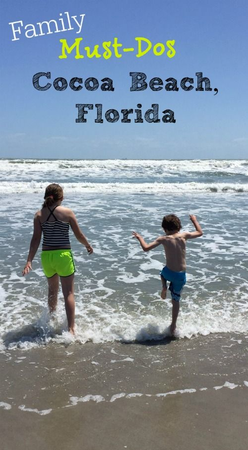 Family Vacation ideas at Cocoa Beach Florida, including ocean side hotels to check out, where to get souvenirs, favorite restaurants, and how to warn your kids about (jellyfish!) beach safety.