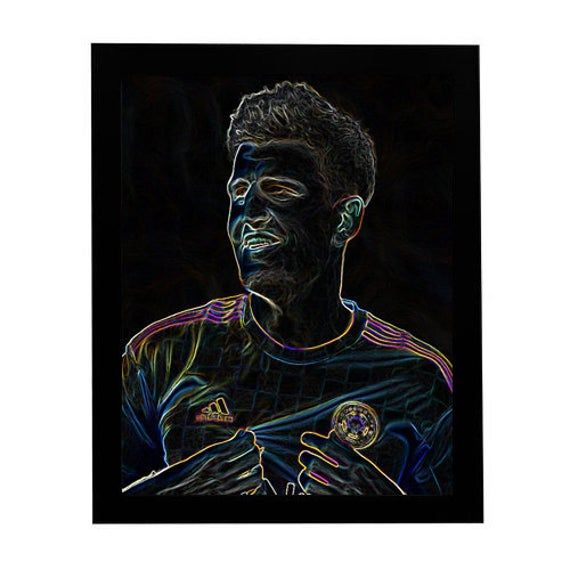 gift Manchester Poster home decor wall art Harry Maguire Print
