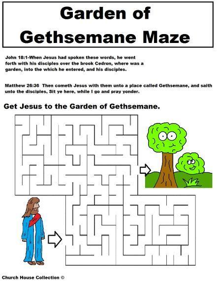 Garden of Gethsemane Maze