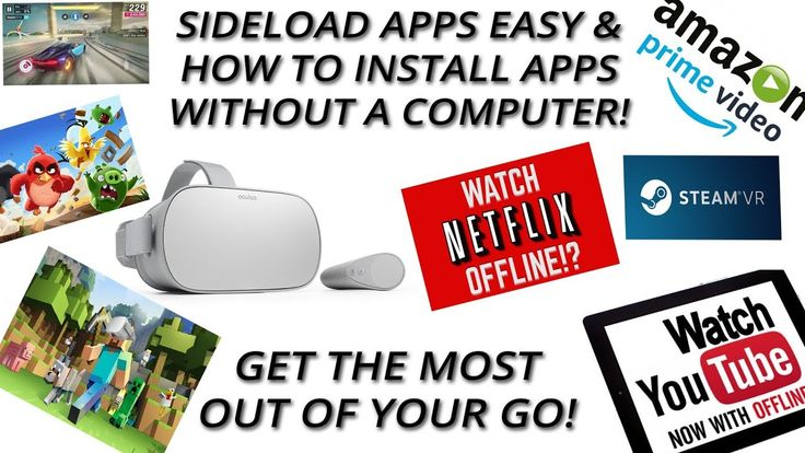 How to sideload apps on Oculus Go (and cast your screen to