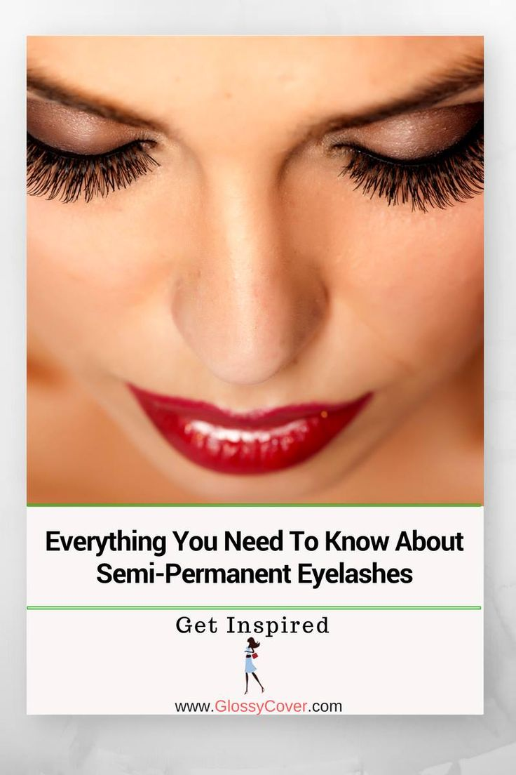 They are amazing.  Here is what you need to know about Semi-permanent eyelashes