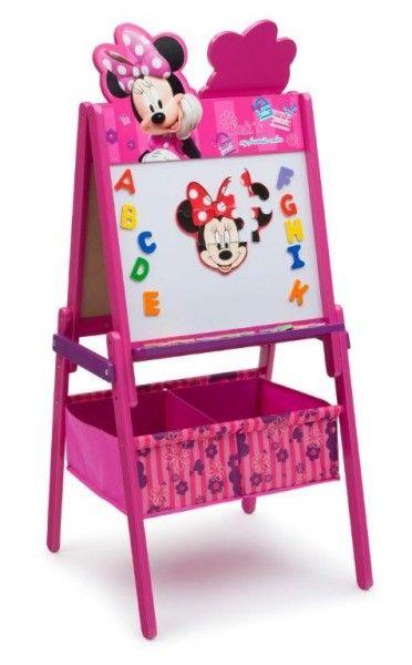 Disney Minnie Lavagna Pieghevole per Disegnare, con pennarelli cancellabili e gessetti, Giochi e Arredo Cameretta Bambini - TocTocShop.com -