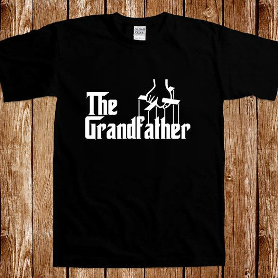 The Grandfather Tshirt Grandpa Fathers Day Gifts For Him Fun Movie Inspired Parody Papa Daddy Gag Joke Cool Tee T Shirt Christmas Gift For Dad Pop Pop