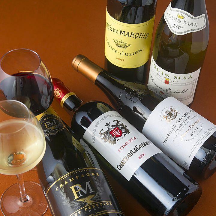 Snow cave wine and sake menu - Gourmet Navigator: [wine]