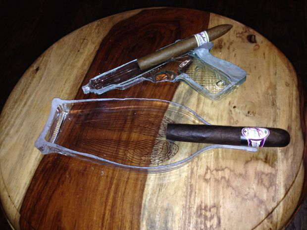 Picture of Cut Glass Cigar Ashtray