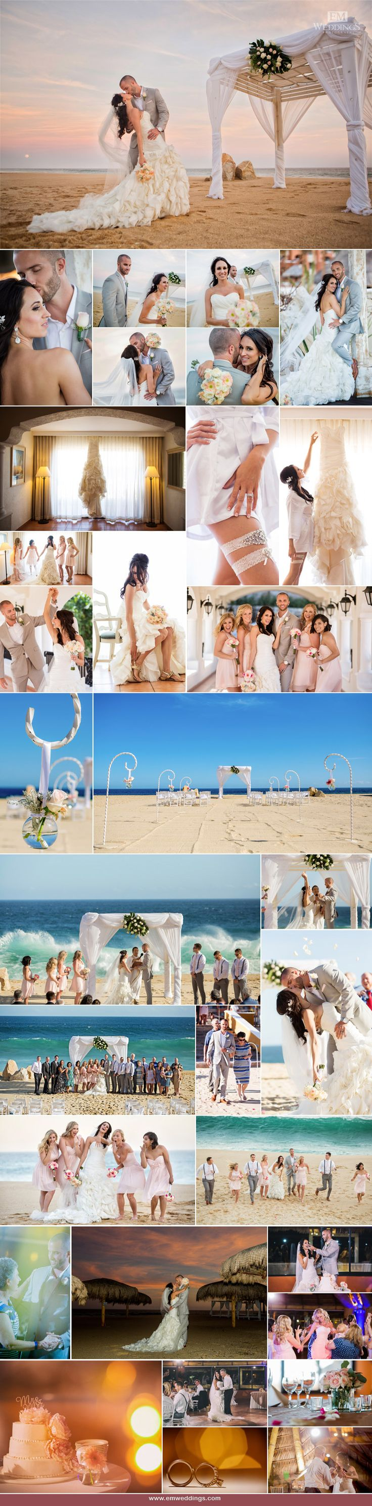 Hotel Sandos Finisterra, Los Cabos, México - Los Cabos Wedding Photographer. #emweddingsphotography #destinationweddings