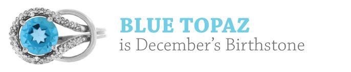 December Birthstone - Blue Topaz Gemstone Jewelry and Discount Newsletter From Gemologica.com