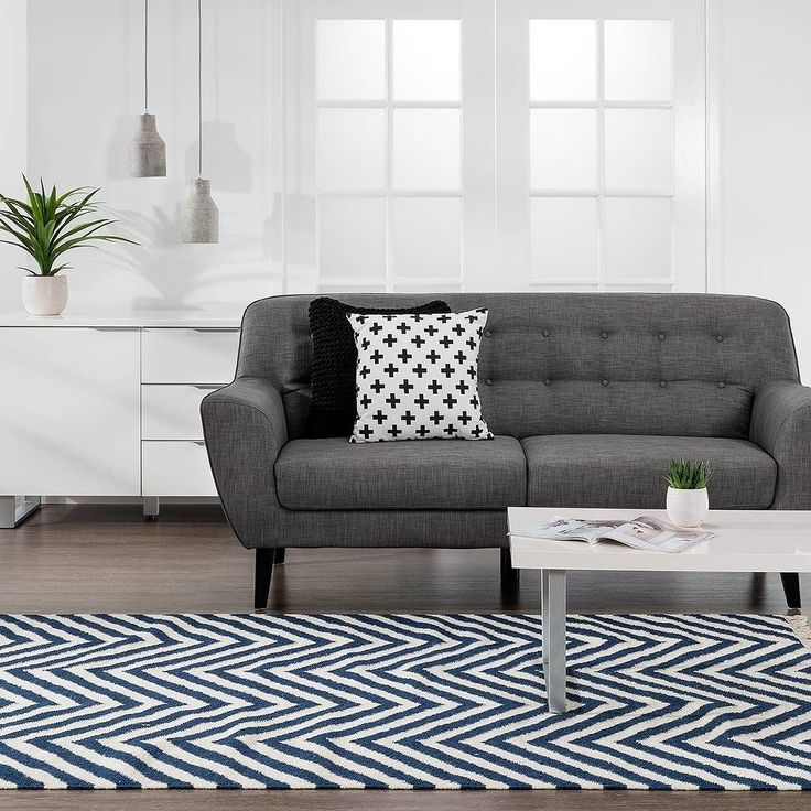 Relaxed furniture for every room! James Sofa & Ice Coffee Table #family #style #homedecor #interiordesign