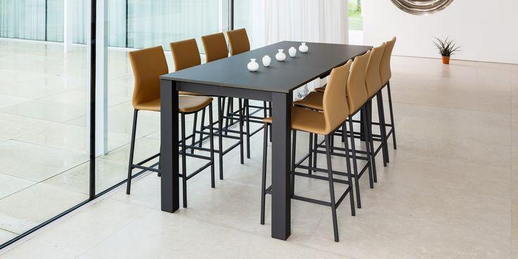 Tafel Quadra hoge stoel Sierra stoelen speciaalzaak Stoelpunt stoel,tafel,chaise,table,sedia,tavolo,silla,messa,table,chair.Perfecta