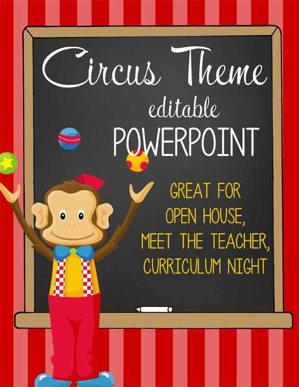 Editable Classroom Decor ~ Images about classroom themes on pinterest circus