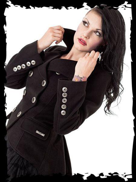 Dámsky kabát Queen Of Darkness JA1-260/12 - 1