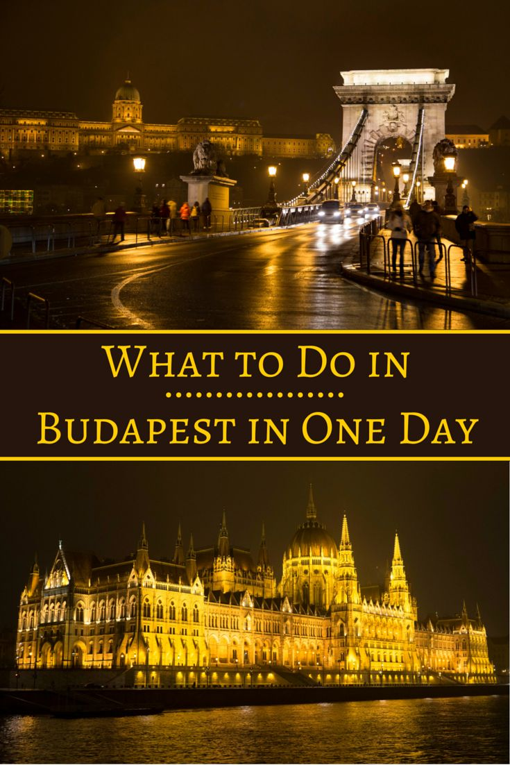 Travel the World: What to do in Budapest in one day, whether you're in Budapest for 24 hours or on a European river cruise. #Budapest #Hungary #travel