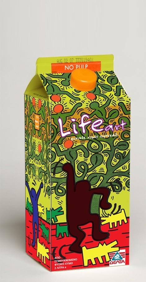 Life Art (keith haring inspiration)